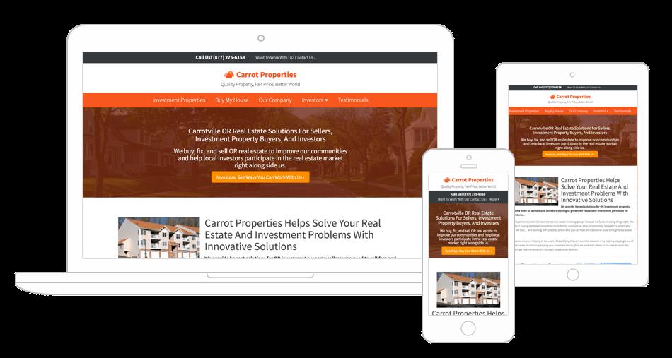 setup business webpage